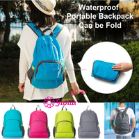 Wholesale Waterproof Polyester Travel Backpack,Foldable Sport Bags Travel Backpacks Lightweight Portable Foldable Backpack