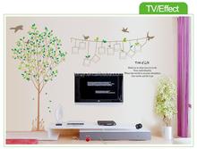 yisenni 2015 duvar çıkartmaları ev dekor çıkarılabilir fotoğraf ağacı duvar sticker
