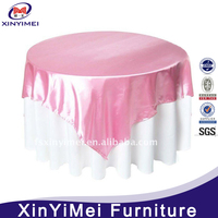modern factories newly soft satin material wholesale wedding table skirt
