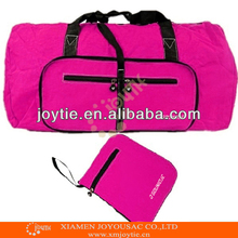 Hot selling colorful foldable travel bag