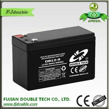 longer service life rechargeable 12v 9ah lead acid exide battery with excellent discharging ability