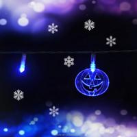 Battery Powered Pumpkin LED String Light