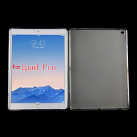 TPU Matte Soft Back Cover Case For iPad Pro 12.9 Inch