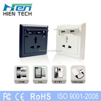 American 110v socket USB outlet socket 5v2.1a for iphone5c 5s ipad sumsung charging