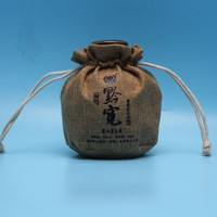 2015 China alibaba fashion wholesale drawstring jute wine bottle bag