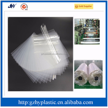 Super transparent rigid pet plastic film and pet lamination roll film and pet shrink film for sale in alibaba