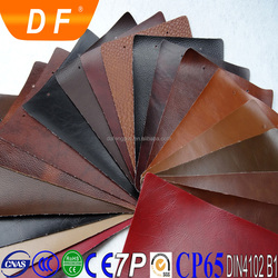 Abrasion-resistant environmental anti-mildew leatherette upholstery pvc leather for sofa, chair covers, bed, bag, wallet