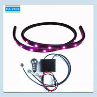 Hot sales automatic color changing smd5050 car decorates led strobe lights