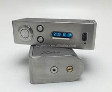 Geeeco variable voltage e cigarette box mod zero mod clone 60watt box mod with best quality