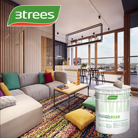 3TREES Low VOC washable interior wall paint