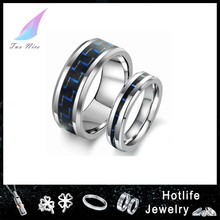 low MOQ manufacturer Fashion Jewelry ring,stainless steel tungsten rings