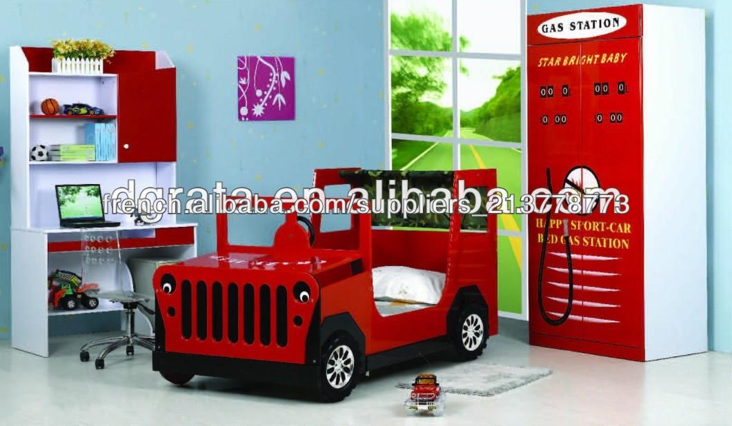 2014 lit de voiture enfants tellement cool de jeep a t faite de bord e1 mdf et peinture de. Black Bedroom Furniture Sets. Home Design Ideas