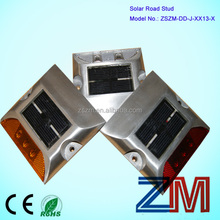 Aluminum allo LEDS flashing off road/ solar off road / solar road makings
