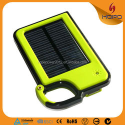 Cheapest high quality mini solar power bank 1500mah powerbank usb battery charger solar for Iphone 6