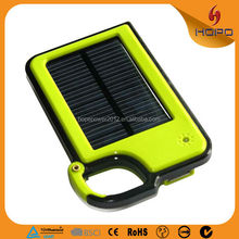 Cheapest high quality portable solar power bank 1500mah powerbank usb battery charger solar for Philips Iphone