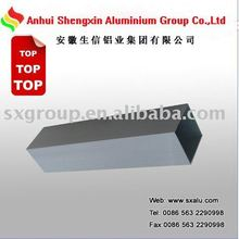 aluminum tube grey powder coating