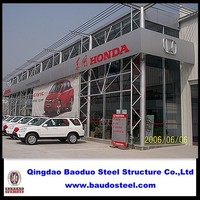 4S shop/ Exhibition building steel structure mordern building