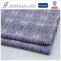 Jiufan Textile High Quality Competitive Price Printed Animal Wool Peach Full Polyester Woven Fabric for Dress Summer Trousers