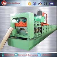 Metal roof ridge cap roll forming machine.roofing tile cold roll forming machine(hot sale)