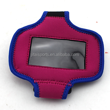 neoprene rubber cell phone pouch/mobile bag and sports arm bag