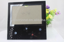Cheap Transparent Crystal Glass Frame For Pictures