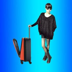 OEM cabin suitcase maleta bag luggage for US Canadian traveler travleware group, China Brand Customize Factory