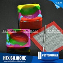 Eco-friendly health care silicone mat e cigarette silicone rubber mat vape pen colorful silicone pad anti-slip display pad
