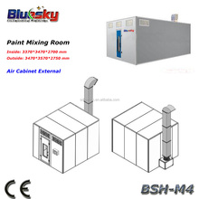 Car paint mixing room/ paint booth for cars/used auto paint booths BSH-M4(CE, ISO approved)