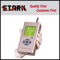 SDK-HPC300 handheld wide size range particle counter in clean room