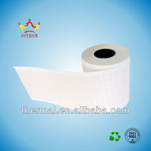 63mm*30m thermal examination paper roll---3-channel thermal ECG paper rolls for Japanese ECG-8110P/K,Fukuda-2155U Machines