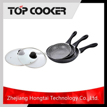 Aluminum Marble Coating Stone Forged Frying Pan