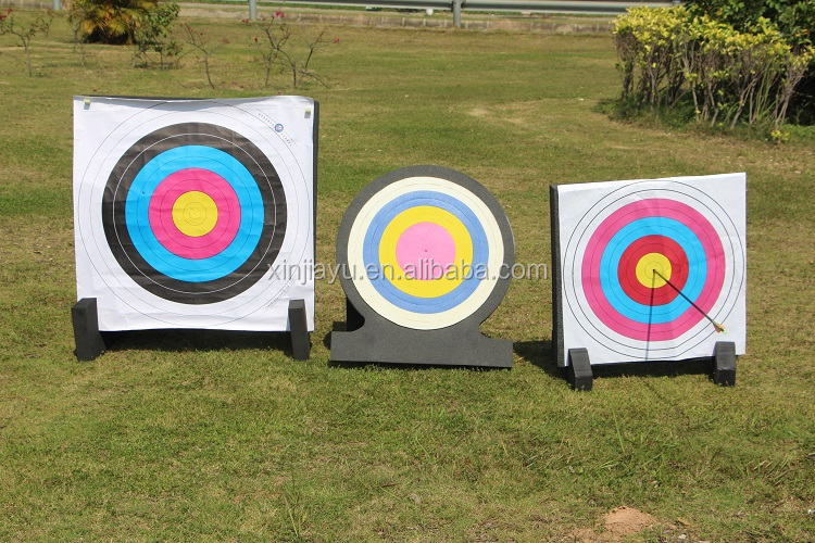 how to make archery target board