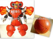 transform robot toy basketball