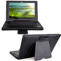 PU leather wireless bluetooth keyboard case for sony tablet