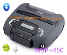 Woosim 112mm bluetooth thermal portable receipt printer, business card printing machine WSP-I450
