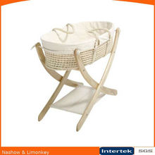 Folding Wooden Baby Cot