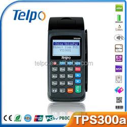Telpo Handheld EFT POS TPS300A airtime machine airtime vending pos wifi machines