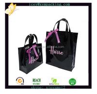 Custom Cotton Coated Pvc Shopping Bags