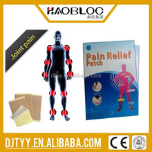New Product for 2015 Back Pain And Muscle Pain Relief Plaster