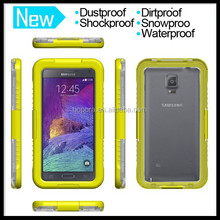 Cell Phone Protective Waterproof Cover Skin for Samsung Galaxy Note 2 3 4 Case