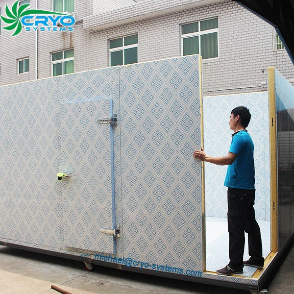 Outdoor using for sale movable cold storage room cool room for Portable garden room