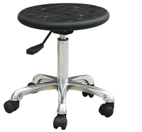 Stainless steel swivel stools for hospital and offices