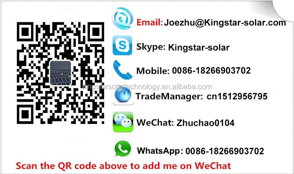 High Efficiency Csun Solar Panel 260w Tuv Ce Certificates