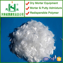 monofilament polypropylene fibres for cement mortar and wall putty