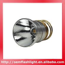 Super Bright CREE XMl T6 Warm White 4000K 900lm 3.7V-9.0V 1-Mode OP Lamp Cap