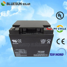 Bluesun two 12V 40AH connected in series for 24v sealed lead acid battery