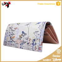 2015 Alibaba wholesale colorful brand women wallet