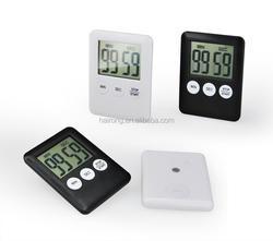 Hairong desktop kitchen timer touch screen digital clock