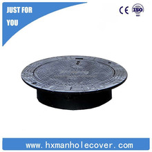 Standard ductile cast iron subsidence prevention manhole cover sizes