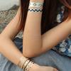 Metallic flash tattoo body gold tattoos Gold,silver, flash flash metallic temporary tattoos